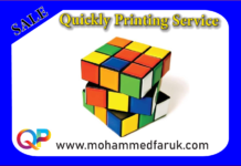 Rubik's Cube Printing